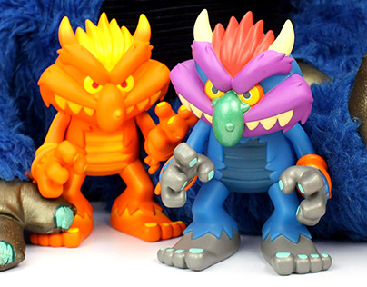 My Pet Monster Designer Vinyl Toy