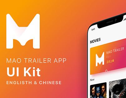 Movies app UI Kit