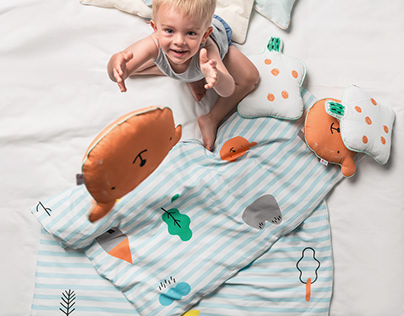 Pattern design for kids bedding