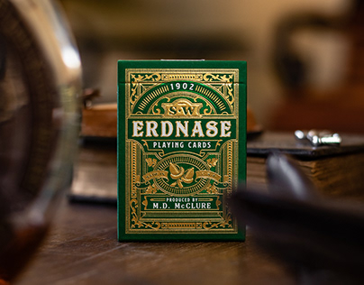 S.W. Erdnase Playing Cards