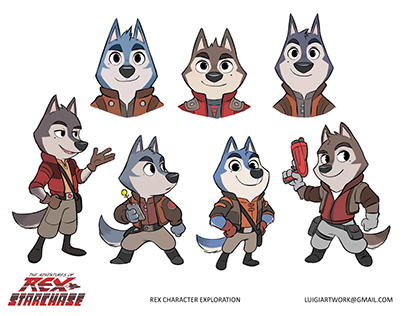 The Adventures of Rex Starchase