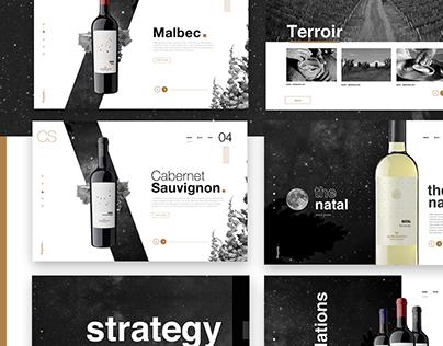 Alpamanta biodynamic wines - #packaging - #wines