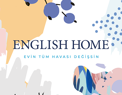 ENGLISH HOME / IDENTITY DESIGN