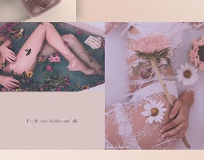 Bealth herbal cosmetics branding