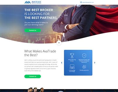 UX UI Short Web Page