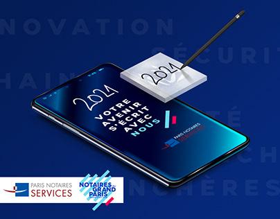 Paris Notaires Services | Voeux 2021