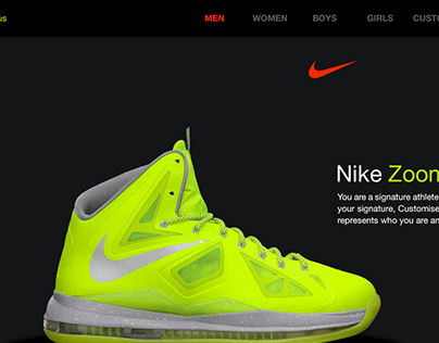 Nike Shoes | Website | UI/UX