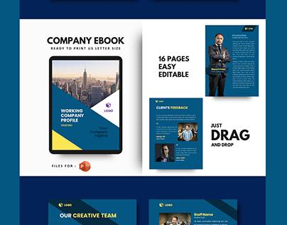 New company profile 2020 template