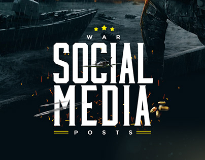 Social Media War Posts