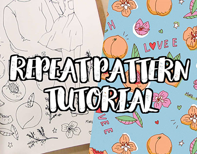 Turn Drawings Into Repeat Patterns (Video Tutorial)
