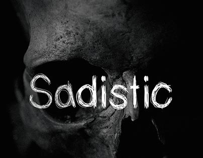 Sadistic ( Free Font )