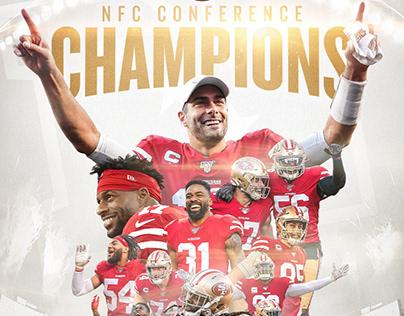 2019 49ers Post Season Branding