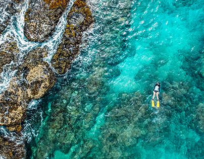 OCEAN BLUE NATURE