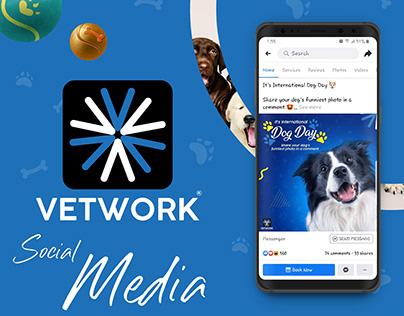 Vetwork(Pet Care App) - Social Media