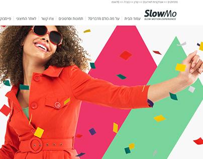 SlowMo web design
