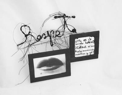 Respeto | brooch by Myriam Moreno