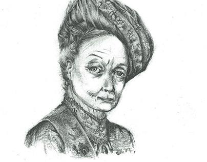 """""""Lady Violet portrait"""""""