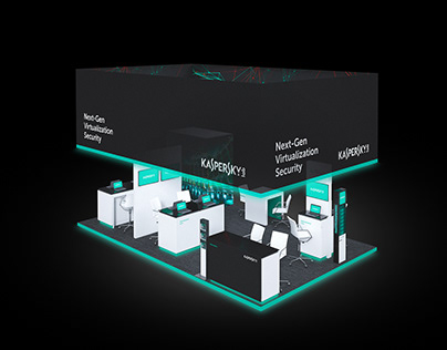 Kaspersky — exhibition booths and manual
