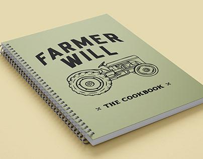 Farmer Will Cookbook Design