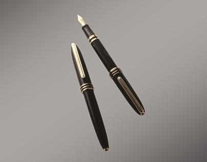 Luxury Fountain Pen for Zebra Japan