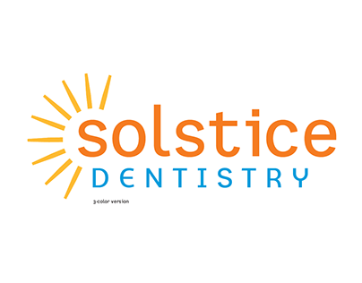Solstice Dentistry Brand Identity