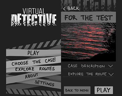Virtual Detective Test Prototype