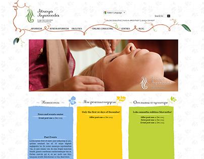 WordPress website design for Ayurveda Clinic