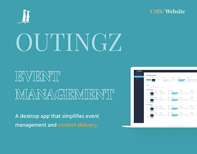 Outingz - Web App&CMS