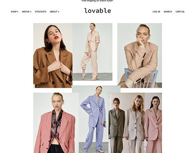 Clothing Online Store LOVABLE