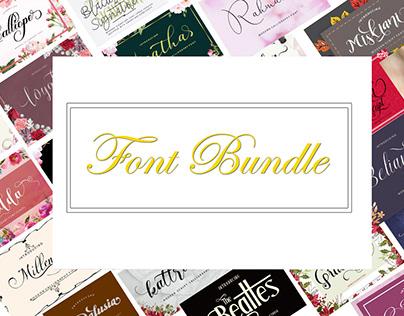 Beauty Font Bundle