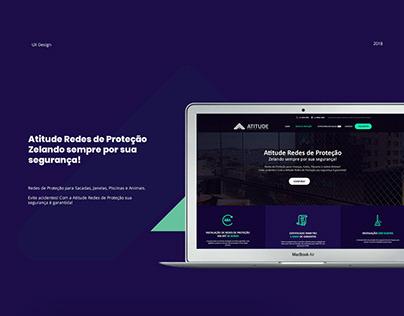 Web site- Atitude Redes de proteção