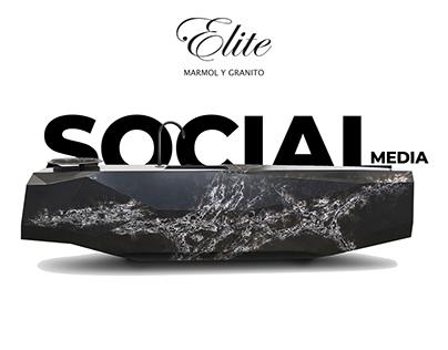 Elite Mármol y Granito Social Media
