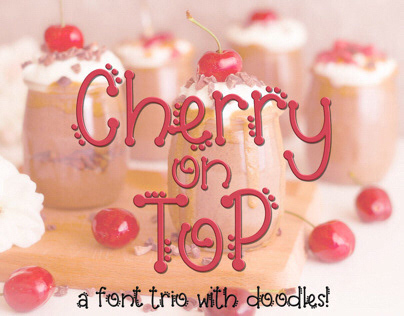 Cherry on Top Font