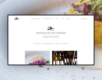 Osteria del Pettirosso - Website