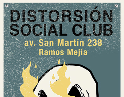 flyers distorsion social club