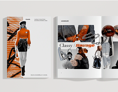 Classy / Savage – Fashion design project