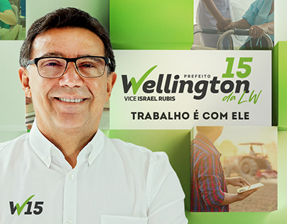 Wellington da LW   Campanha Política
