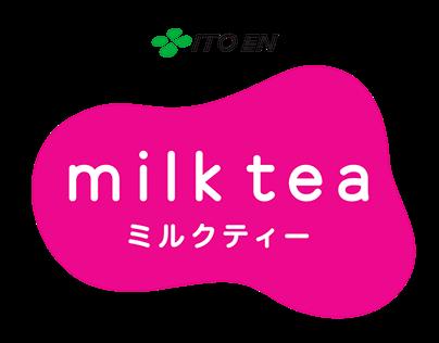 ITO EN Milk Tea Product Packaging