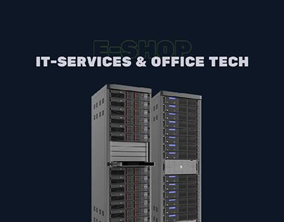 E-shop - IT services