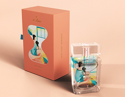 The Moment - Perfume Packaging Design