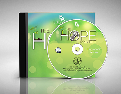 Album Cover- The Hope Project