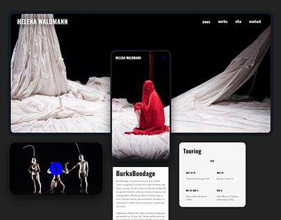 UI Case Study - Theatre Choreographer online portfolio