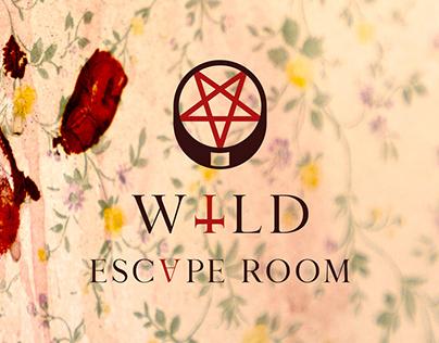Brand design — WILD Escape room