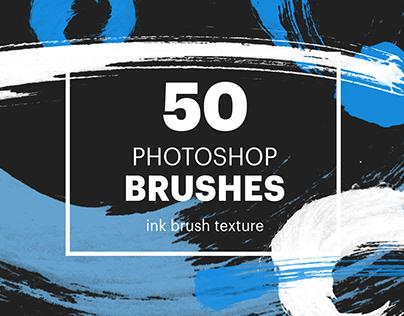 50 Photoshop brushes: brush lines & circles