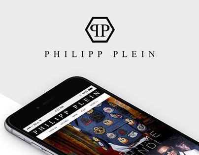 PHILIPP PLEIN Newsletter Design + Development