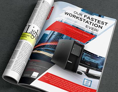 Print Ad Lenovo Workstation