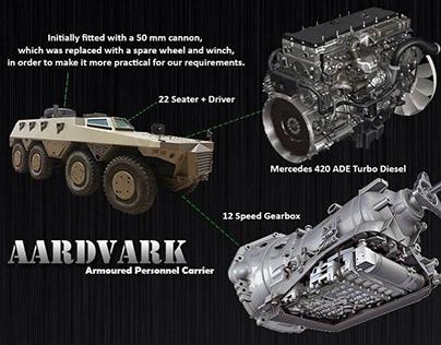 Video - Aardvark Riot Vehicle