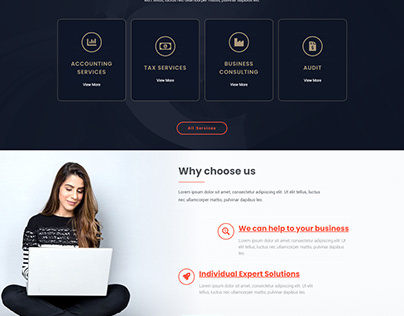 Accounting Services WordPress Theme