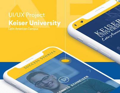 UI/UX - Keiser University
