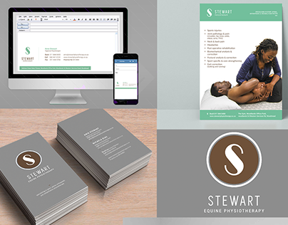 Stewart Physiotherapy Corporate Identity Branding